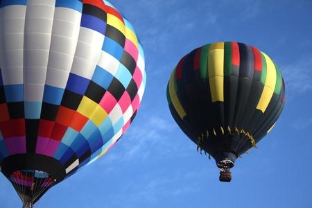 Two balloons Stock Photo