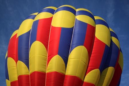 Hot air balloon top photo