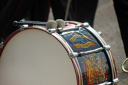 Grenadier Guard drum photo