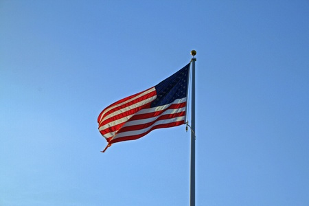 Early flag photo