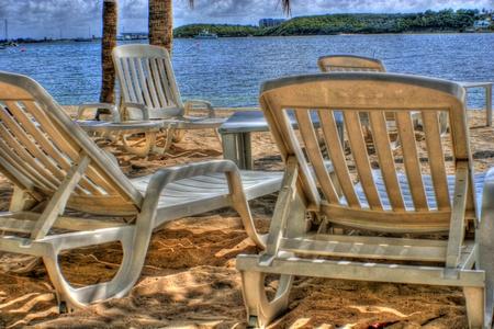 Beach chairs HDR