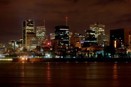 Montreal by night 3 HDR photo