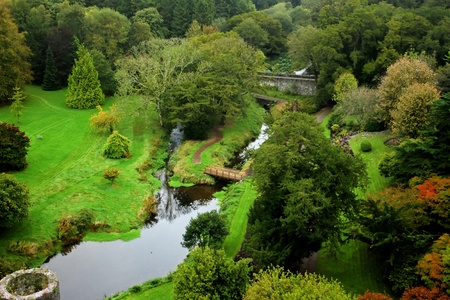 Blarney garden photo