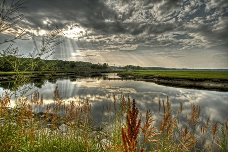 Scarborough marsh  photo