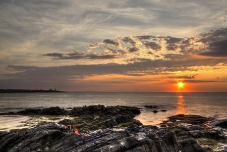 Wood Island Lighthouse Sunrise