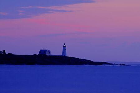 Wood Island Lighthouse Sunrise 64