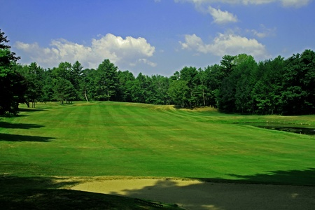 Golf scenery 73 Stock Photo