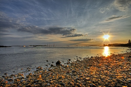 Wood Island Lighthouse Sunrise 09
