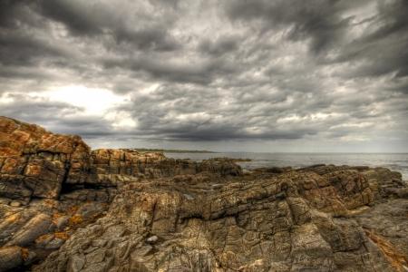 Wood Island Lighthouse Sunrise  Stock Photo