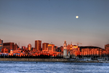 Montreal sunrise 24