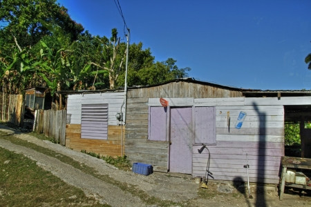 Jamaican housing 56 Stock Photo