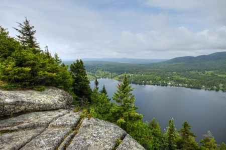 lakeview: Lakeview from mountain 45