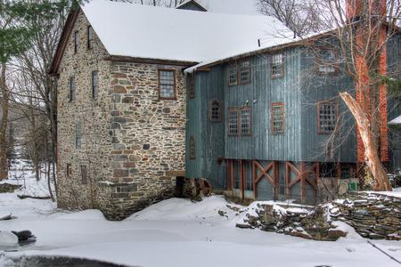 Water Mill / Winter / Hokuto / Japan | HD Stock Video 825-590-997 ...