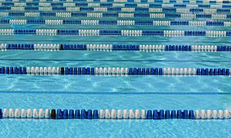 lanes: Swimming lanes in pool