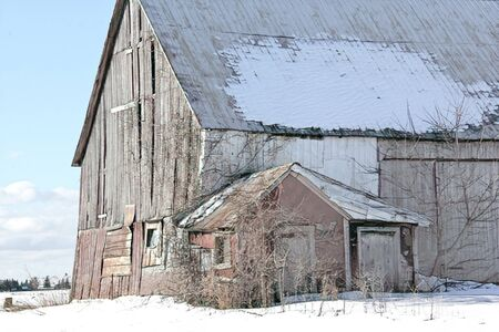 Old barn photos manipulated for illustration and background purposes.