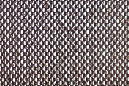 honeycomb metal grid abstract background Stock Photo