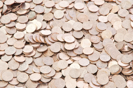 kopek: background of a penny coin Russia
