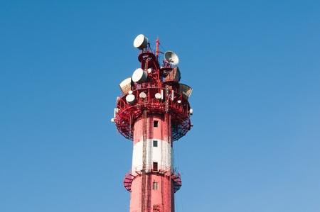 TV tower to broadcast radio photo