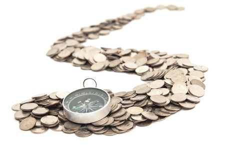 dime: Compass is at the beginning of the road from coins