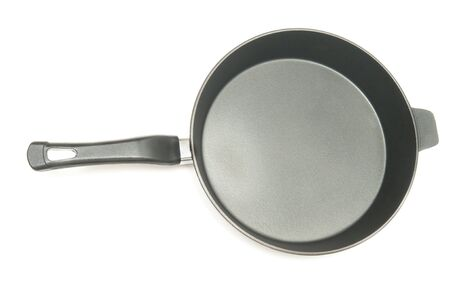 frying pan for the preparation of fried foods photo