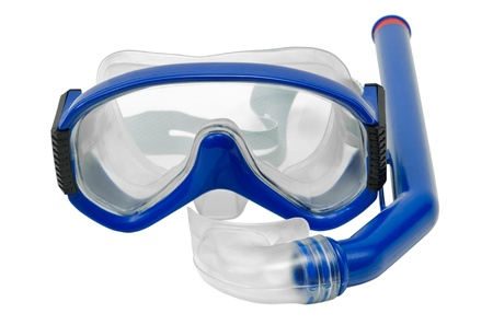 Mask and tube for diving under water