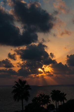 Evening sunset on the sea Stock Photo - 15759569