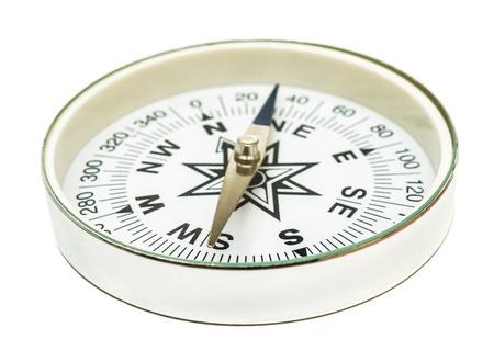 Tourist compass on a white background Stock Photo - 16813055