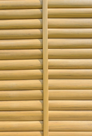 laths: Background wooden convex laths horizontal