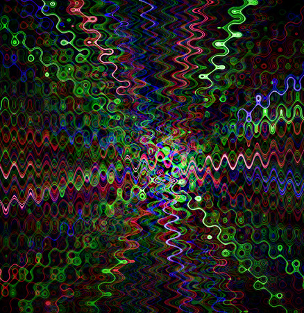 portal: space in the portal crooked background of different colors