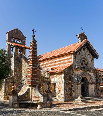 Altos de Chavon. Dorf Altos de Chavon in der Dominikanischen Republik.