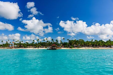 resort coast of the Caribbean