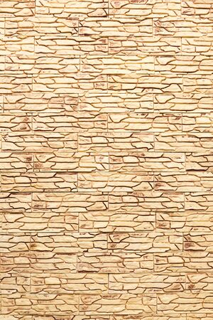 abstraction wall fence built of natural stone background
