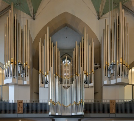 Organ of Stiftskirche in Stuttgart, Germany