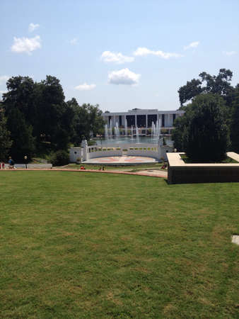 cooper: Clemson Universitys Cooper Library and Amphitheater, South Carolina, US