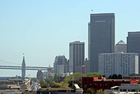 Bay Bridge and San Francisco Skyline