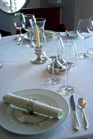 Elegant Table Service