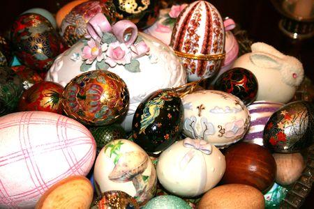 Basket of collectors eggs
