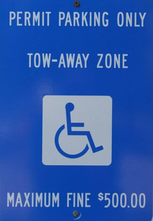 Permit Parking Sign