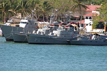 Mexican Navy vessels Stock Photo - 449767