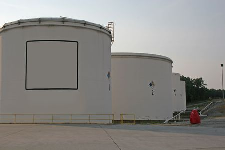 Fuel tanks with copy space