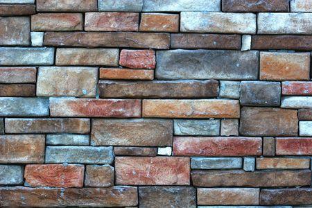 Stone and masonry wall