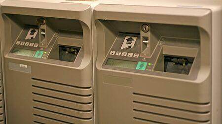 Twee Airline ticket printers bij corporate travel agency