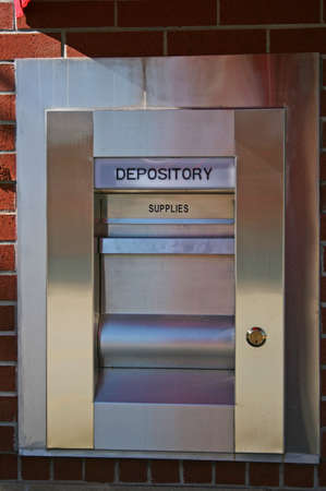 depository: A Night depository at a local bank