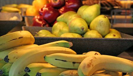 A selection of fresh fruit at a buffet Stock Photo - 844060