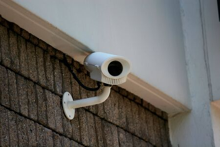 A close circuit security camera looking at the photographer Stock Photo - 920836