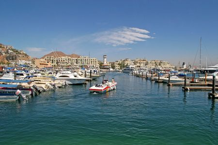 cabo: Marina at the port of Cabo San Lucas
