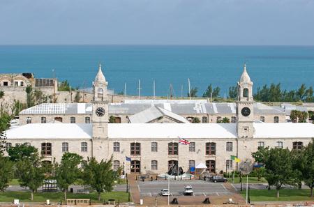 bermuda: Old british navy dockyards on the coast of Bermuda