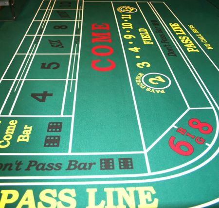 Craps Table in Casino