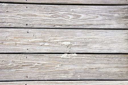 Old desgastado planchas de arena en una playa de madera. Bueno para fondo o textura  Foto de archivo - 2995415
