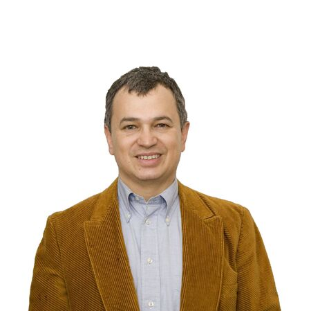 nice looking: A nice looking middle-aged hispanic man on a white background